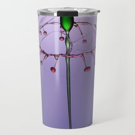 Red and green form Travel Mug