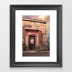 Oaxaca Style Framed Art Print