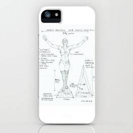 Victory Drawing, Transitions through Triathlon iPhone Case