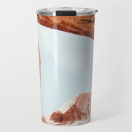 Skylight | Nature Landscape Photography of Double Arch Rock in Arches National Park Utah Travel Mug