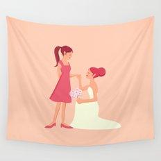 Be My Bridesmaid Wall Tapestry