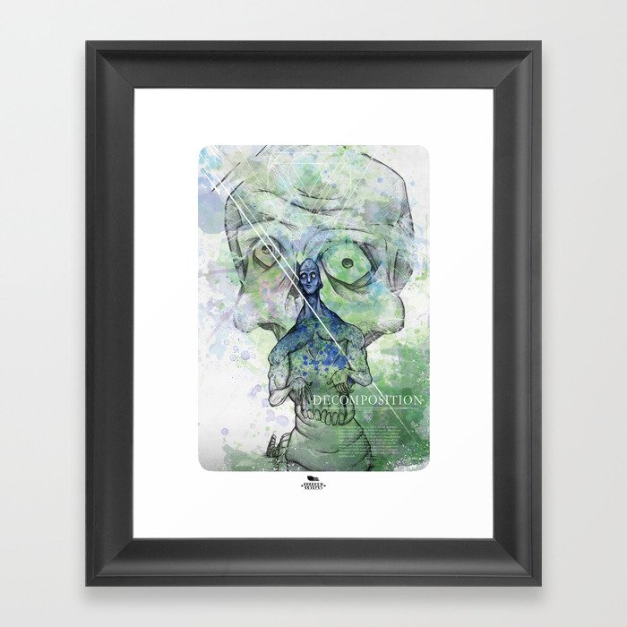 The good Framed Art Print