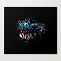 panther Canvas Prints featuring PANTHER by mobokeh