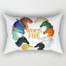 Love Wings of Fire Rectangular Pillow