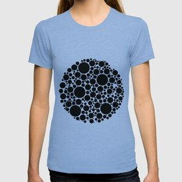 Packed Circles Black and White T-shirt