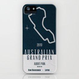 2013 Australian Grand Prix iPhone Case