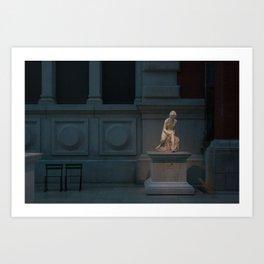 Agna Art Print