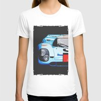porsche T-shirts featuring Porsche 917  by Barbo's Art