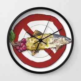 A Plateful of GMO's Wall Clock