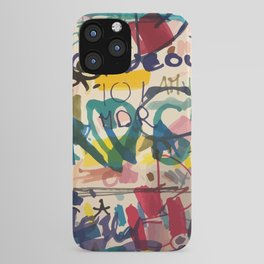 Urban Graffiti Paper Street Art iPhone Case