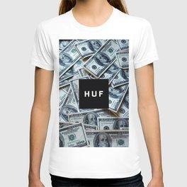 HUF casth money dollar dolar new art 2018 swag hot cover case skin iphone T-shirt