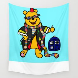 Doctor Pooh Wall Tapestry