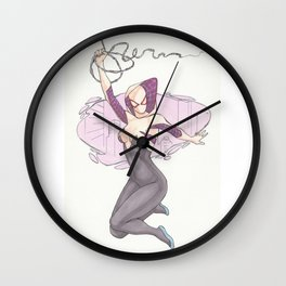 Spider Gwen City Wall Clock
