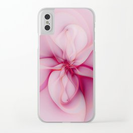 Raspberry Creme Delight Clear iPhone Case