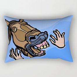 Aaah! III Rectangular Pillow