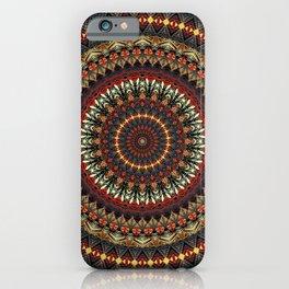 Mandala (Ethnic Dance) iPhone Case