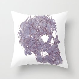 Humans Bug Me Throw Pillow