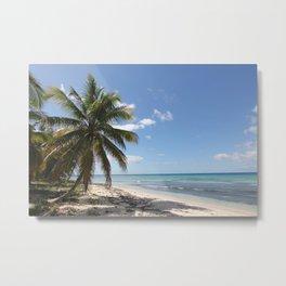 Isla Saona Caribbean Paradise Beach Metal Print