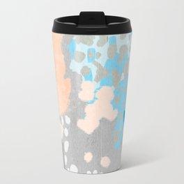 Freya - Painted minimal bright summer palette boho abstract decor minimalist Travel Mug
