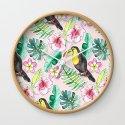 Tropical Toucan Paper-Cut Floral by tangerinetane