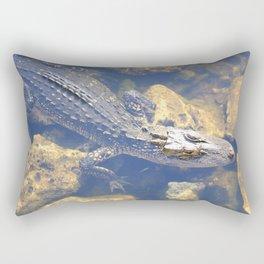 Hunter Gator Rectangular Pillow