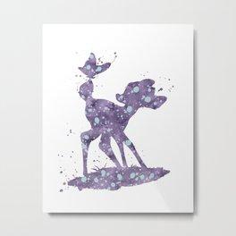 Bambi Disneys Metal Print