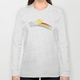 Flying Rhino Long Sleeve T-shirt