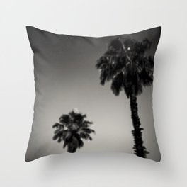 Why are palm trees so damn happy? Throw Pillow