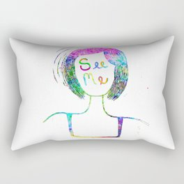 SEE ME Rectangular Pillow