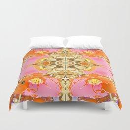 Pink & Orange Poppy 4 Duvet Cover