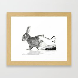 The Merge Framed Art Print