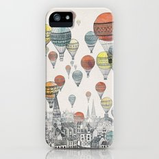 Voyages over Edinburgh Slim Case iPhone (5, 5s)
