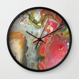 Fluid - Le Jardin Wall Clock
