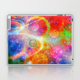 Altered Orbs in Space Laptop & iPad Skin