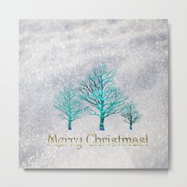 The Day of Christmas Metal Print