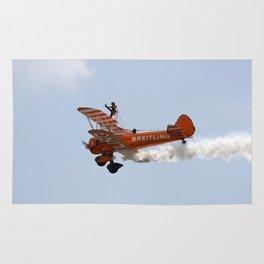 Biplane Wing Walker Rug
