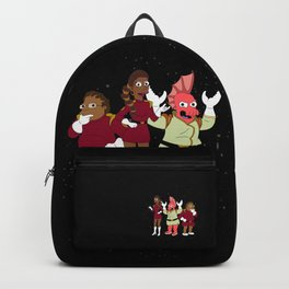 Nimbus Crew: Labarbara, Hermis and Zoidberg Backpack