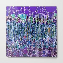 :: Purple Rain :: Metal Print