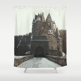 Finally, a Castle - landscape photography Shower Curtain