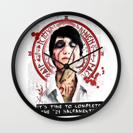 "Silent Hill - It's time to complete the ""21 Sacraments"" Wall Clock"