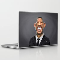 celebrity Laptop & iPad Skins featuring Celebrity Sunday ~ Will Smith by rob art | illustration