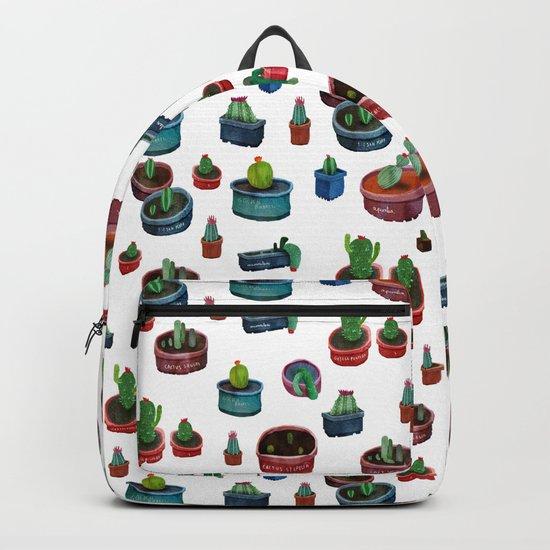 pocket cactus Backpack