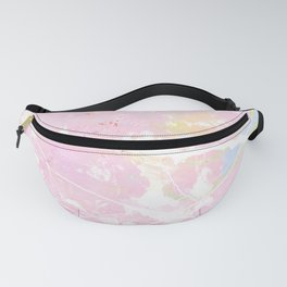 Pastel Candy Pollock marble Fanny Pack