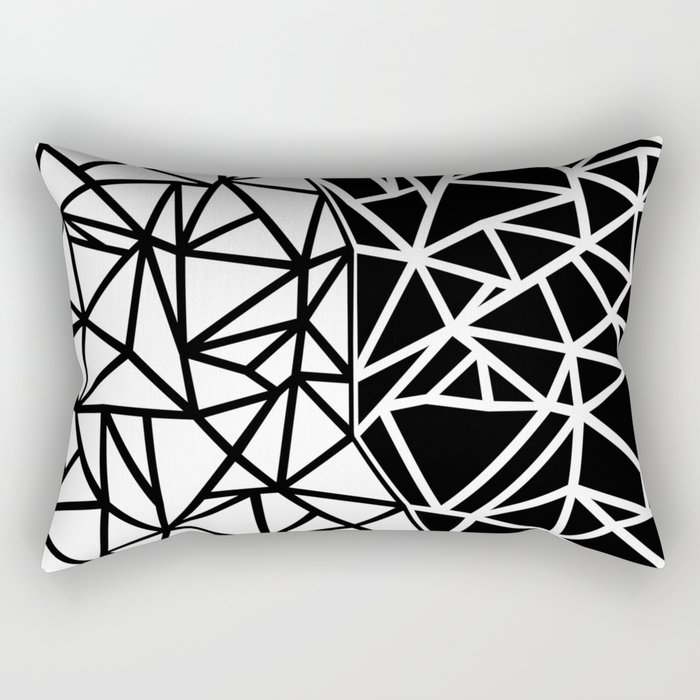 Ab Split Rectangular Pillow