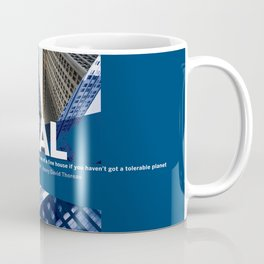 Materialism — Distorts Priorities Coffee Mug