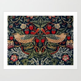 Strawberry Thief Morris Art Nouveau Art Print