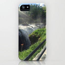 view at great falls iPhone Case