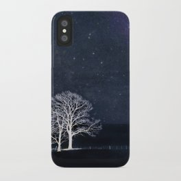 The Fabric of Space and the Boundary of Knowledge iPhone Case