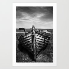 The Old Lifeboat Art Print