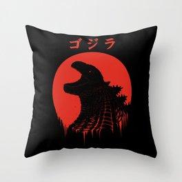 Kaiju Regeneration Throw Pillow